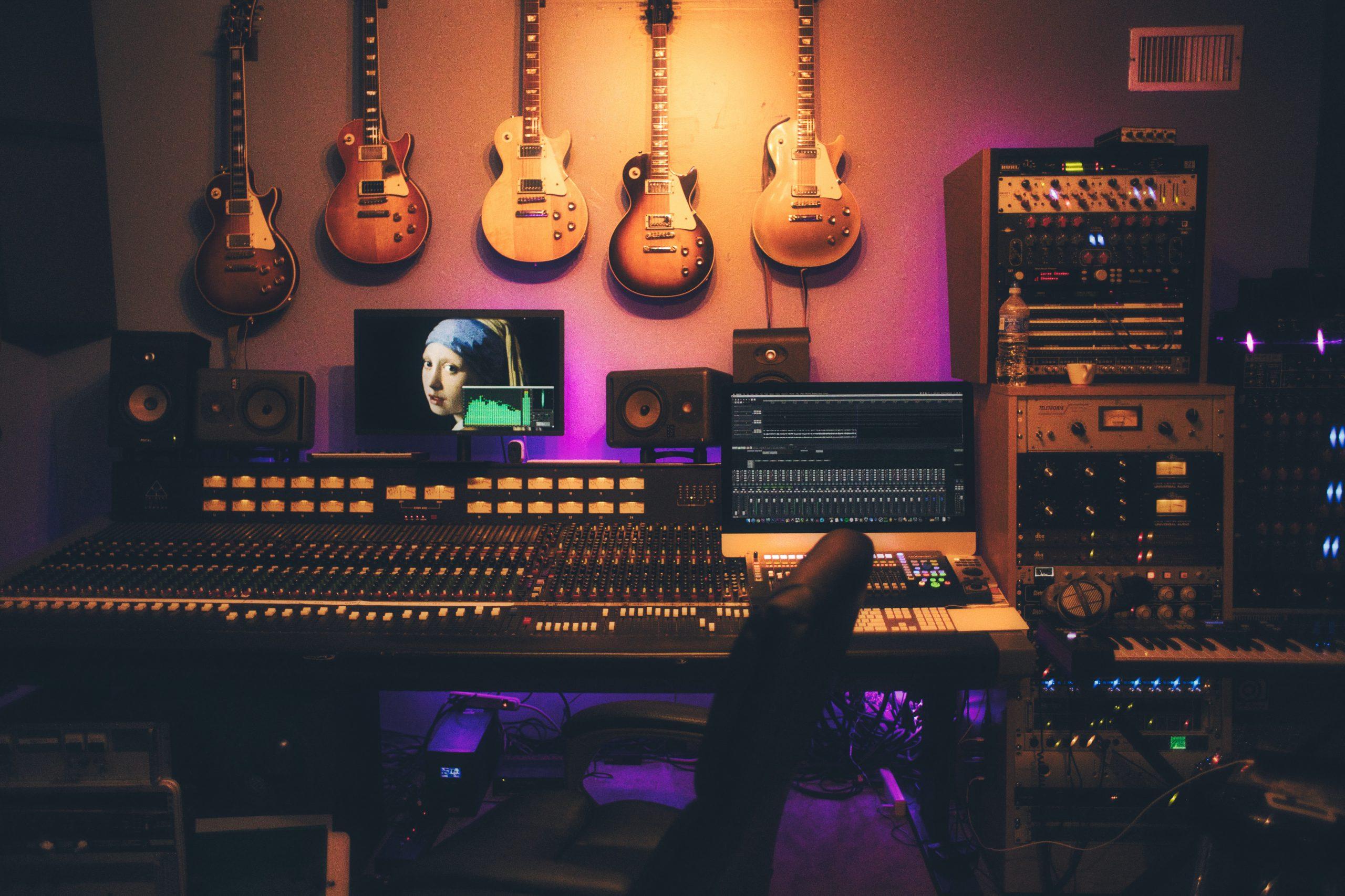 Noise Floor in music studio